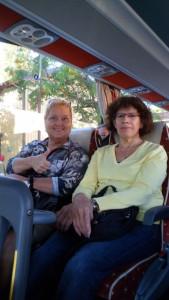 Två av våra nya lärare: i engelska, Kristina Klempt, och i spanska, Anna Salinas