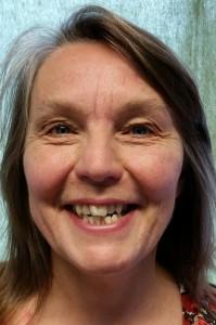 Vår SO-lärare Annika Rosenius som ordnar kultur till oss.