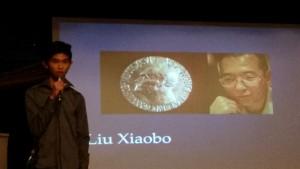 Dexter berättar om Liu Xiaobo.