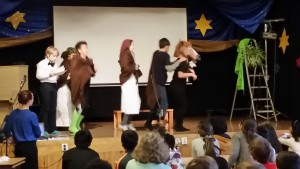 Medeltida teater klass 5