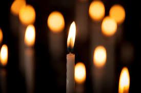 Vi tänder ett ljus för syster Miriam.