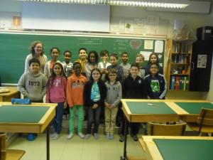 Grattis klass 4 och fröken Ania!