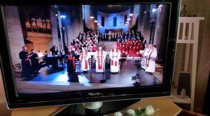 Påven i Lunds Domkyrka.