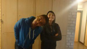 Aron och Alvaro