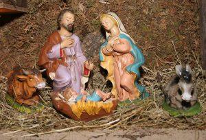 Julkrubba i Perstorps kyrka