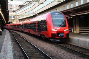 Tåget till Göteborg